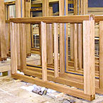 Solid Oak Double Glazed Windows