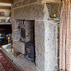 Cornish granite fireplace