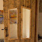 reclaimed floorboard doors